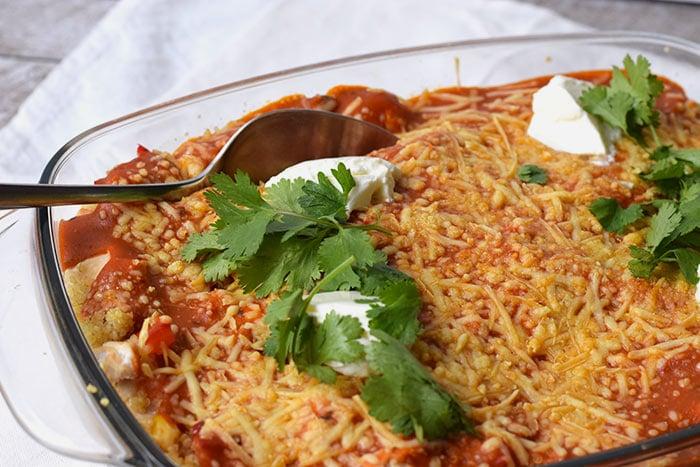 mexicaanse quinoa ovenschotel - karlijnskitchen.com
