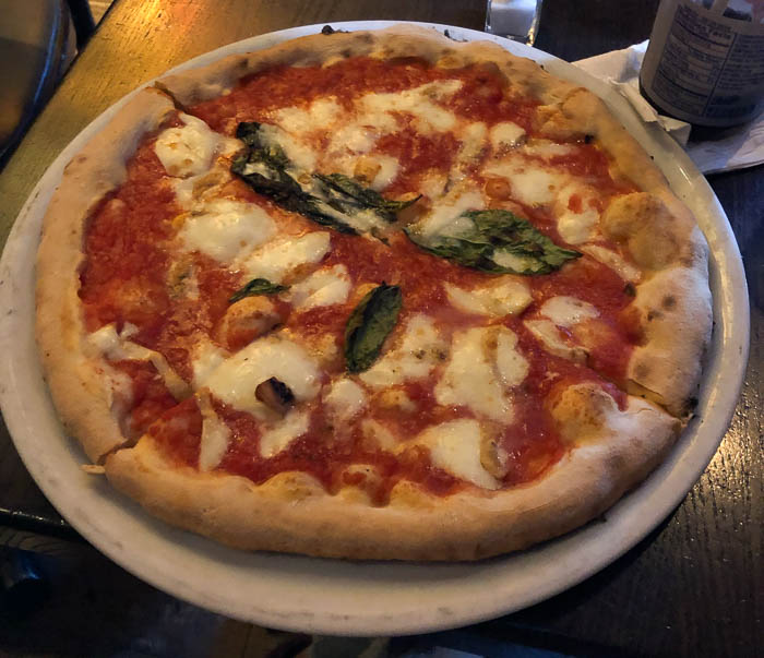 Eating low FODMAP and gluten-free in New York - Keste pizza