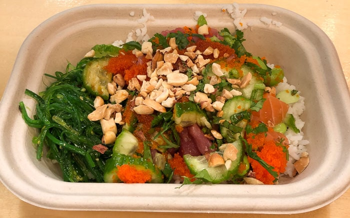 Eating low FODMAP and gluten-free in New York - Pokebowl