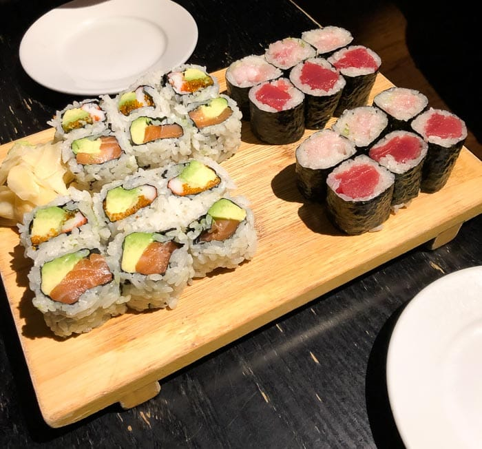 Eating low FODMAP and gluten-free in New York - Sushi Yasaka