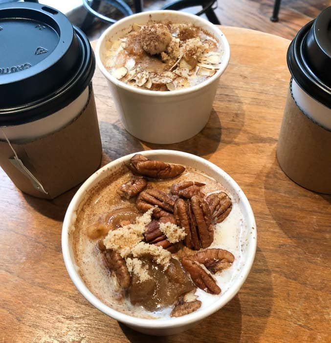 Eating low FODMAP and gluten-free in New York - Oatmeals